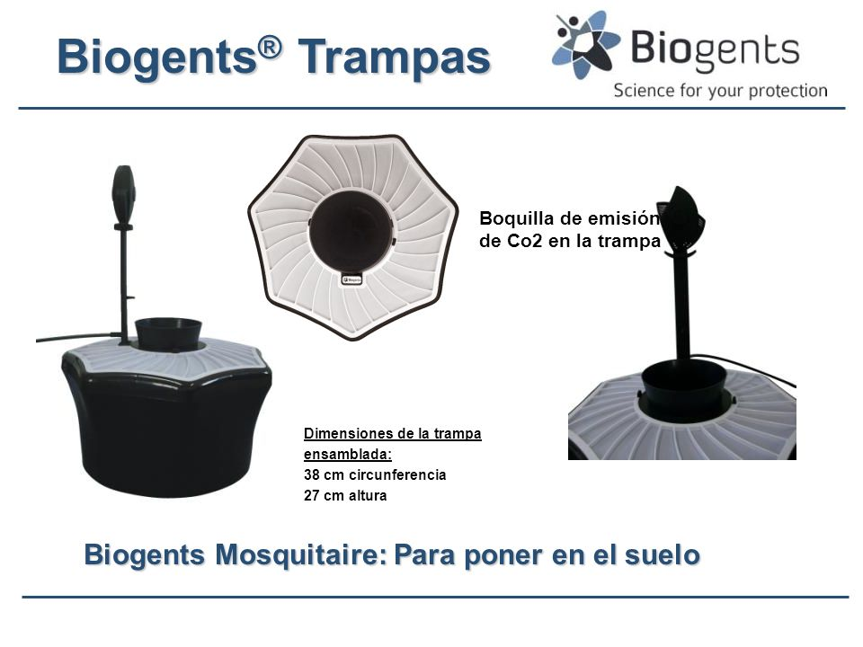 Biogents Mosquitaire: Para poner en el suelo