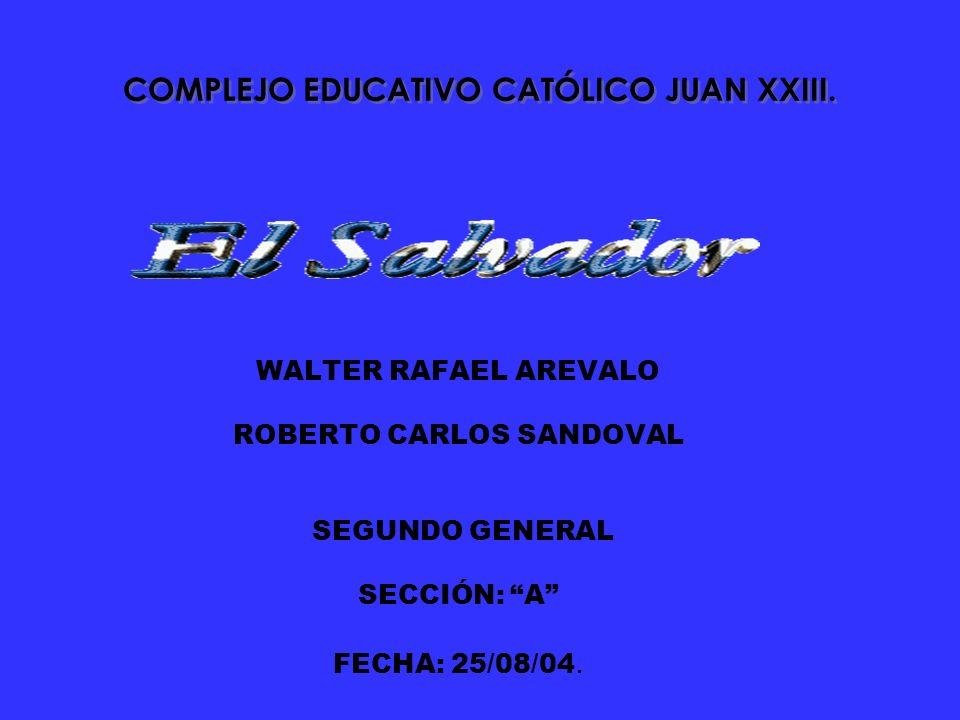 COMPLEJO EDUCATIVO CATÓLICO JUAN XXIII.