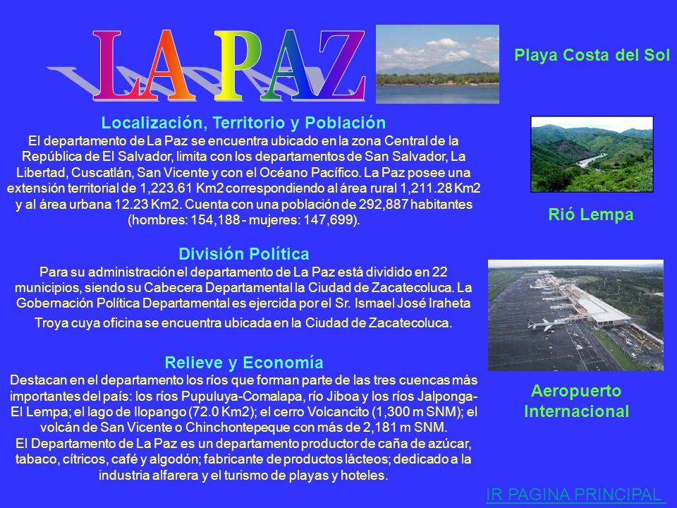 LA PAZ Playa Costa del Sol Localización, Territorio y Población