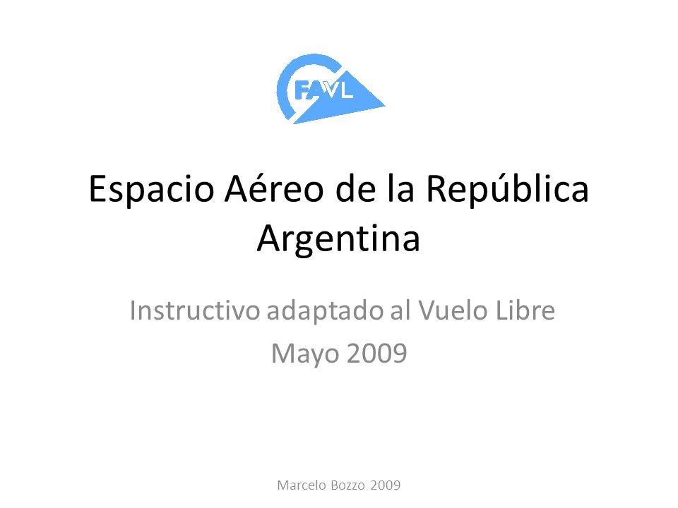 Espacio Aéreo de la República Argentina