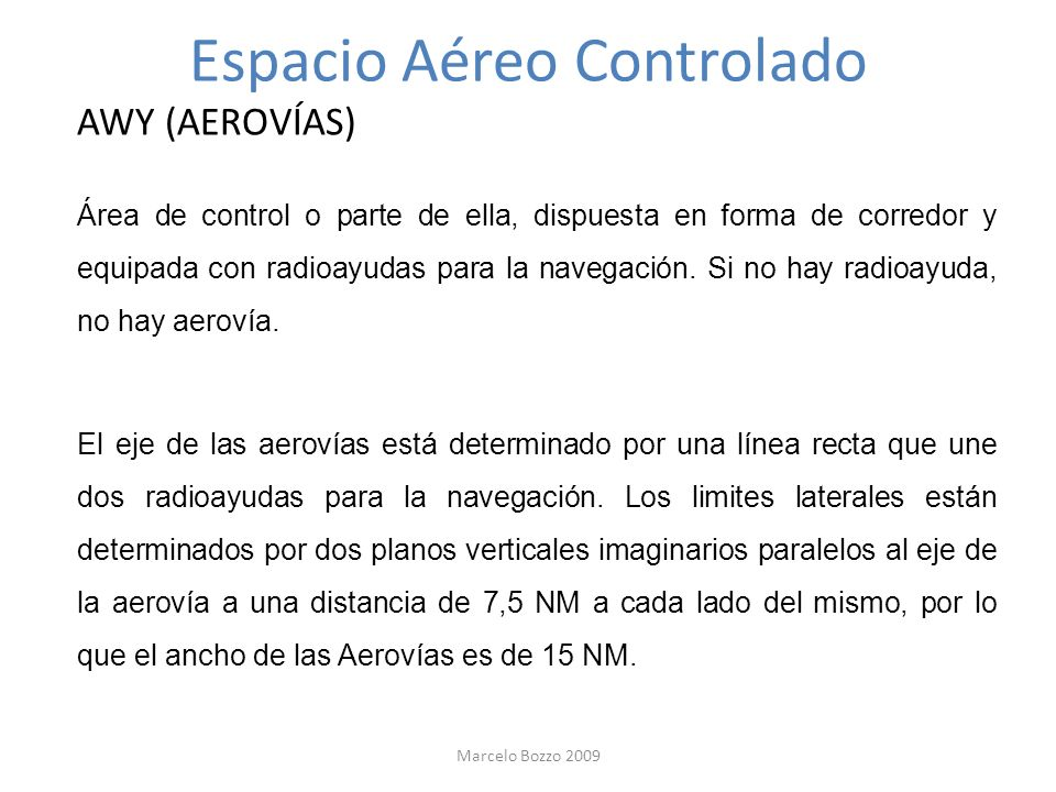 Espacio Aéreo Controlado