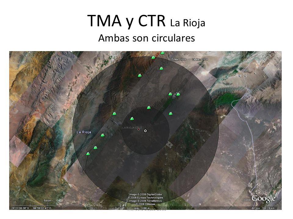 TMA y CTR La Rioja Ambas son circulares