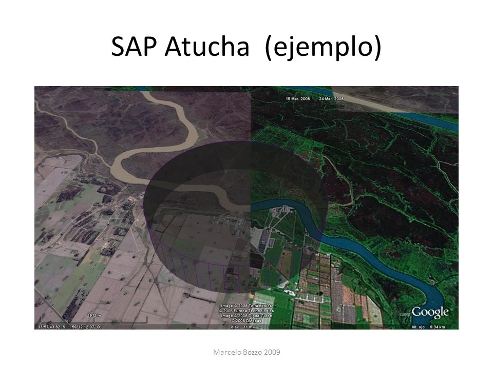 SAP Atucha (ejemplo) Marcelo Bozzo 2009