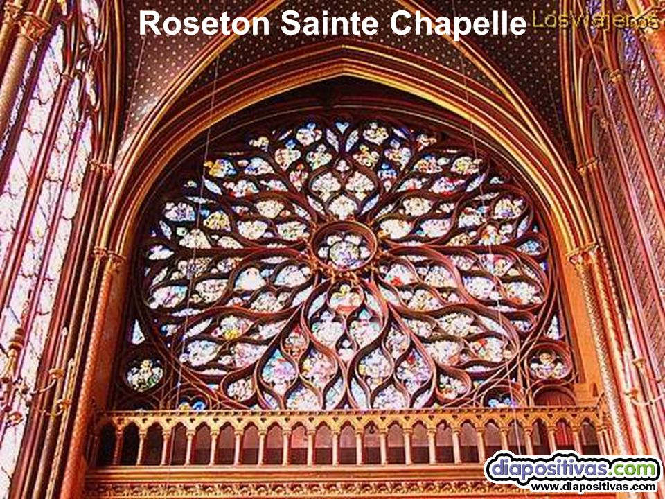 Roseton Sainte Chapelle