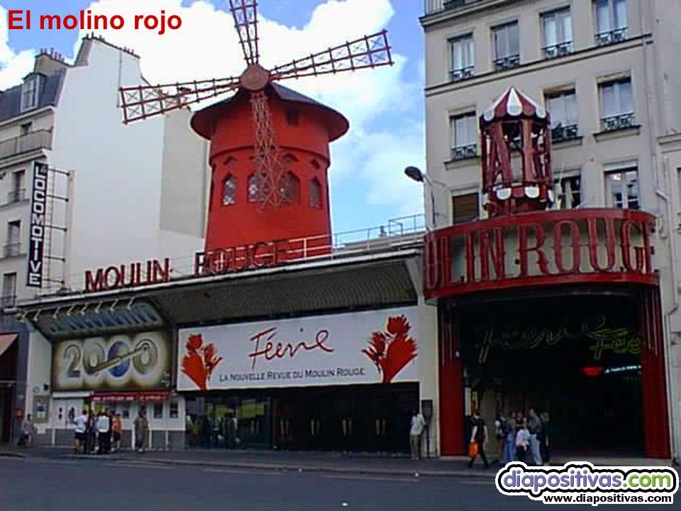 El molino rojo Le moulin rouge