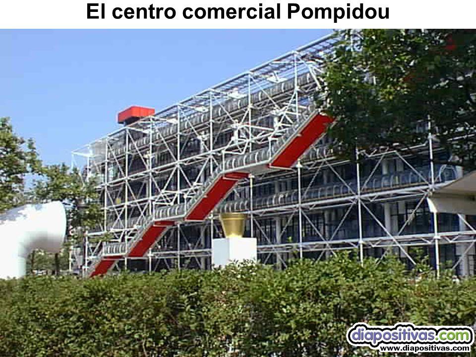 El centro comercial Pompidou
