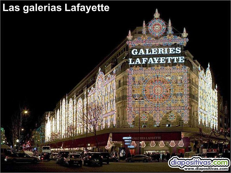 Las galerias Lafayette