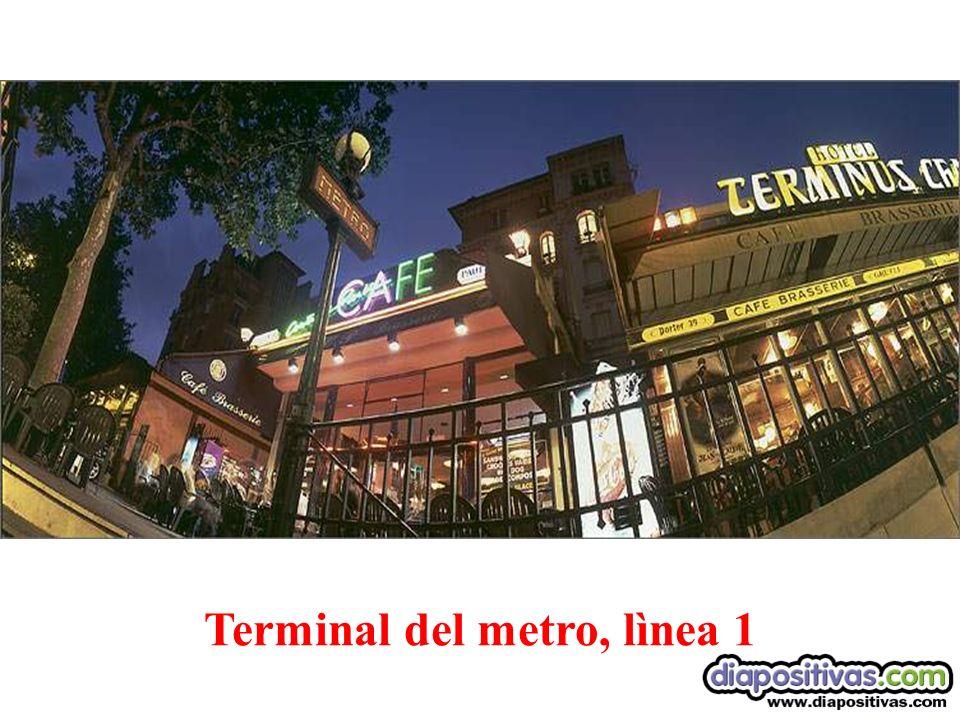 Terminal del metro, lìnea 1