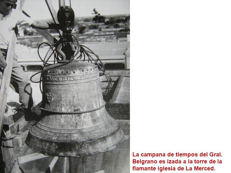 La campana de tiempos del Gral