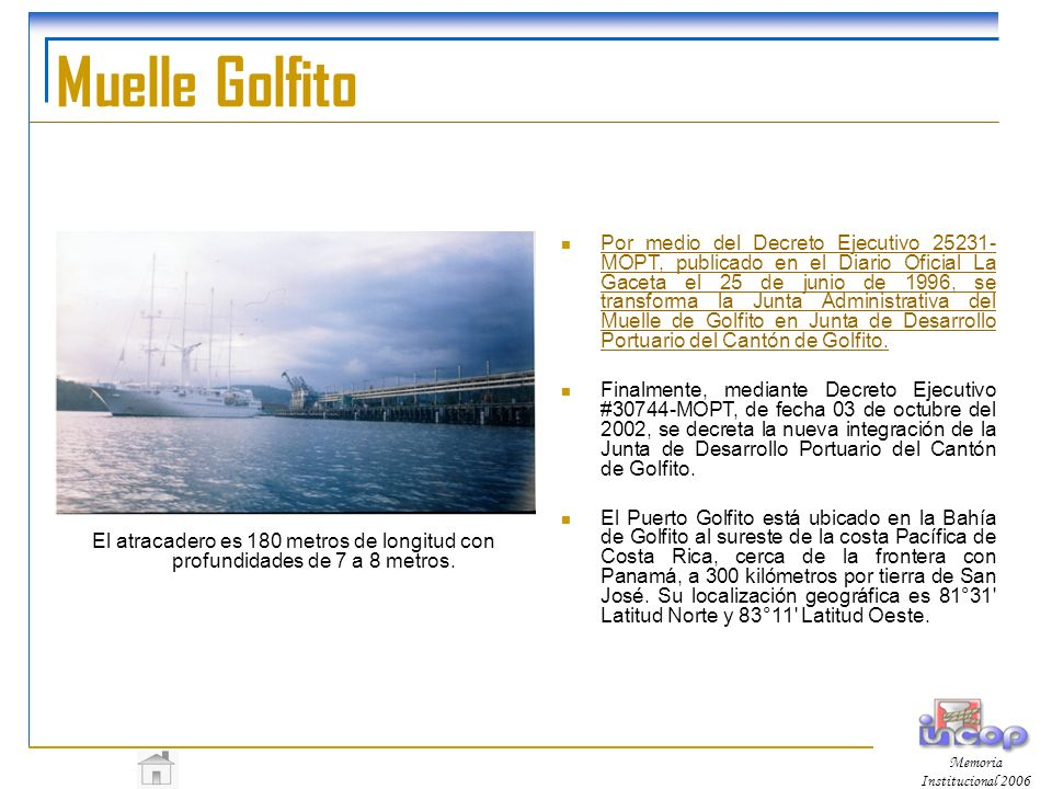 Muelle Golfito