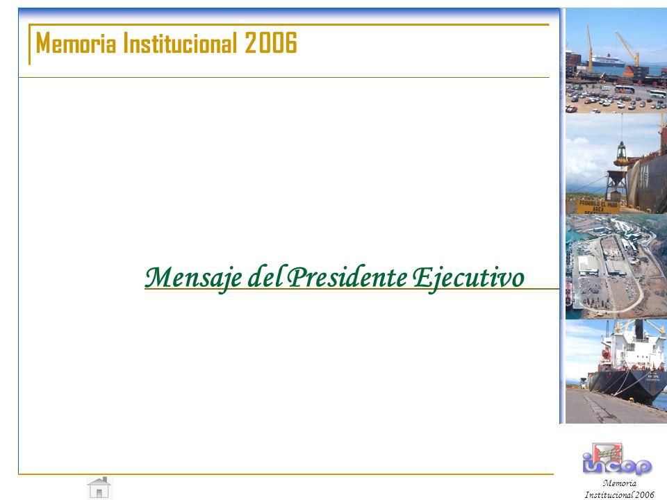 Mensaje del Presidente Ejecutivo