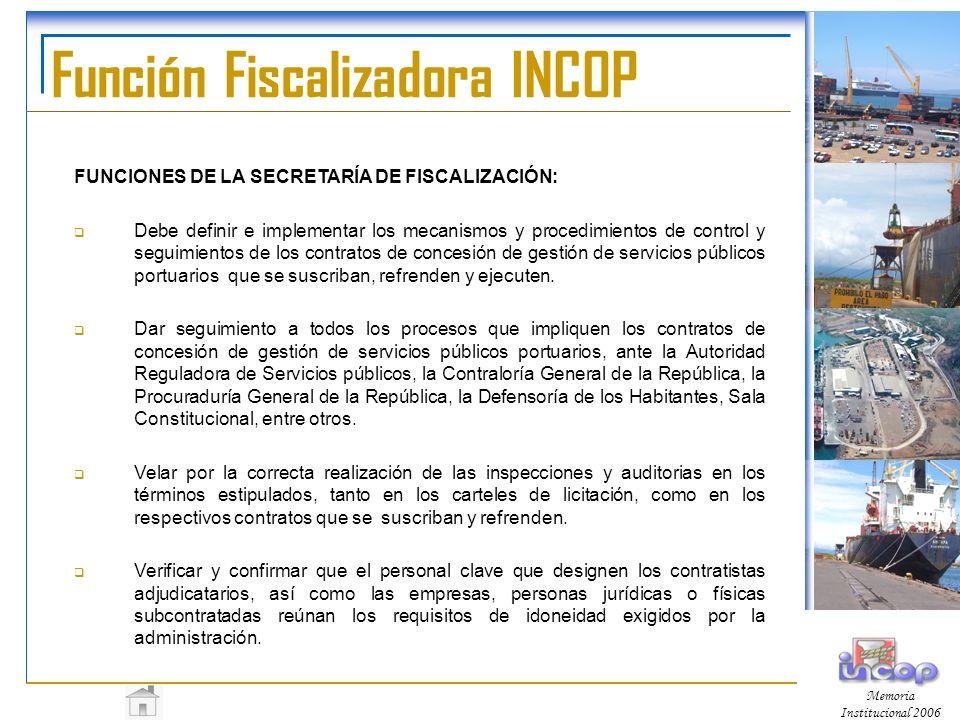 Función Fiscalizadora INCOP