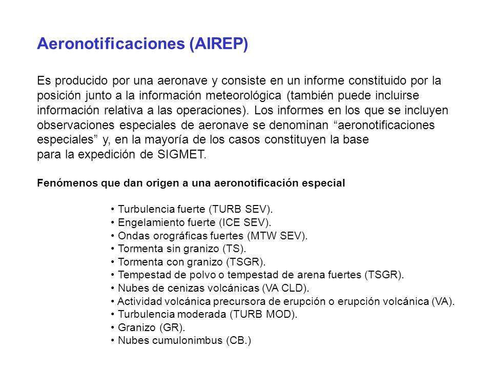 Aeronotificaciones (AIREP)