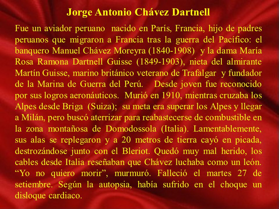 Jorge Antonio Chávez Dartnell