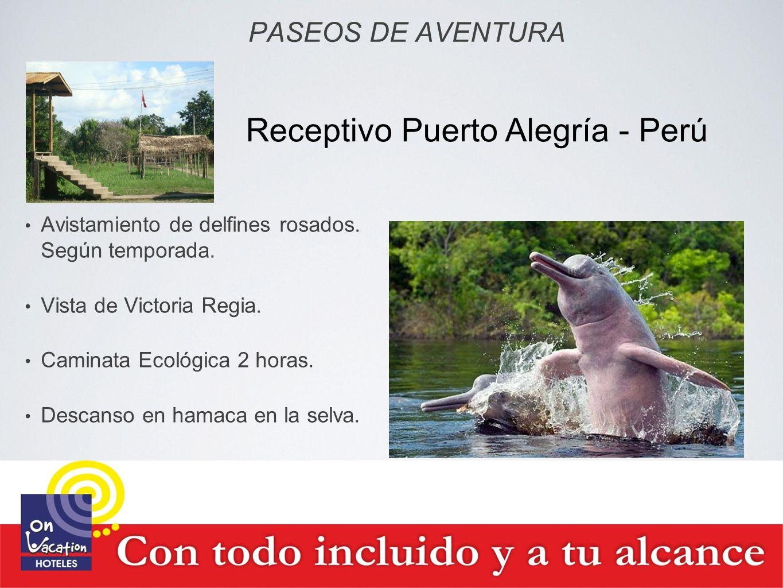 Receptivo Puerto Alegría - Perú