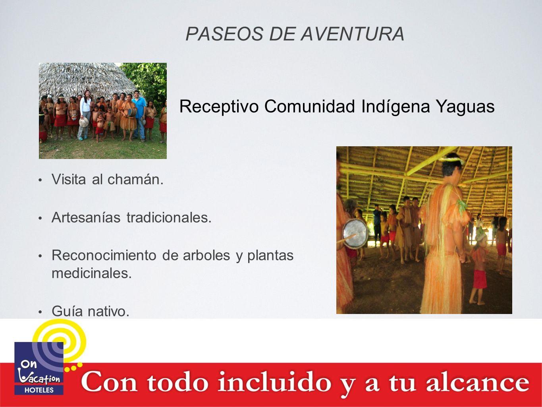 Receptivo Comunidad Indígena Yaguas
