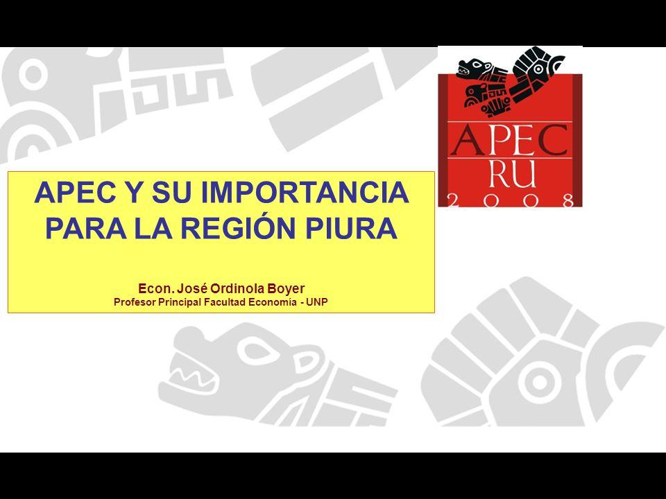 APEC Y SU IMPORTANCIA PARA LA REGIÓN PIURA