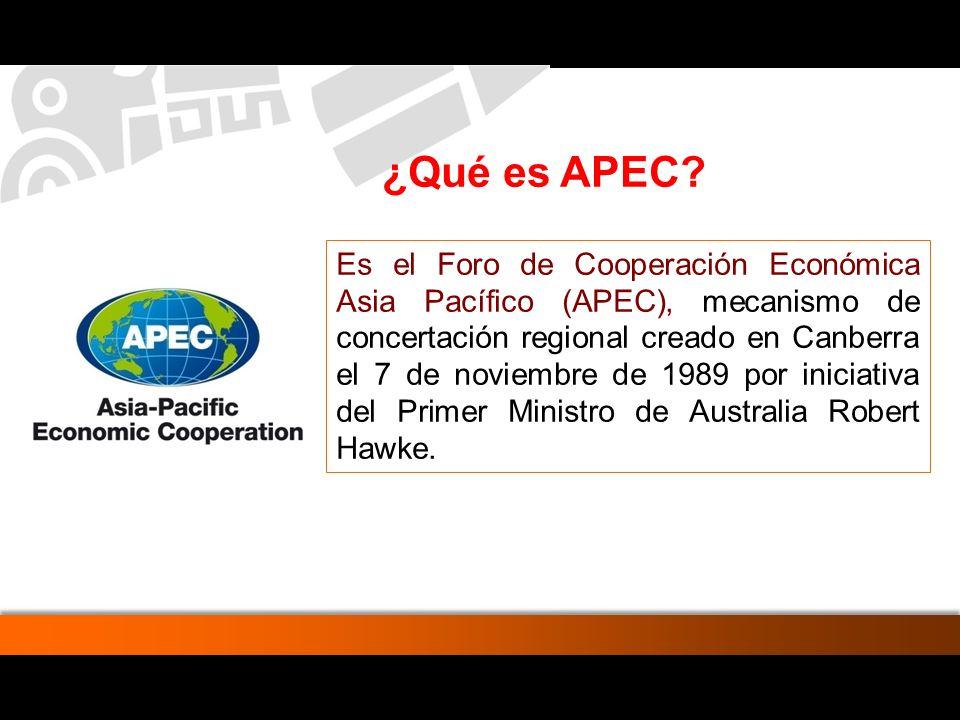 ¿Qué es APEC
