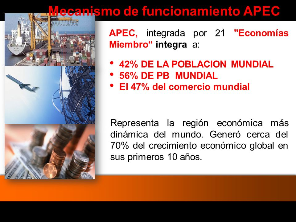 Mecanismo de funcionamiento APEC