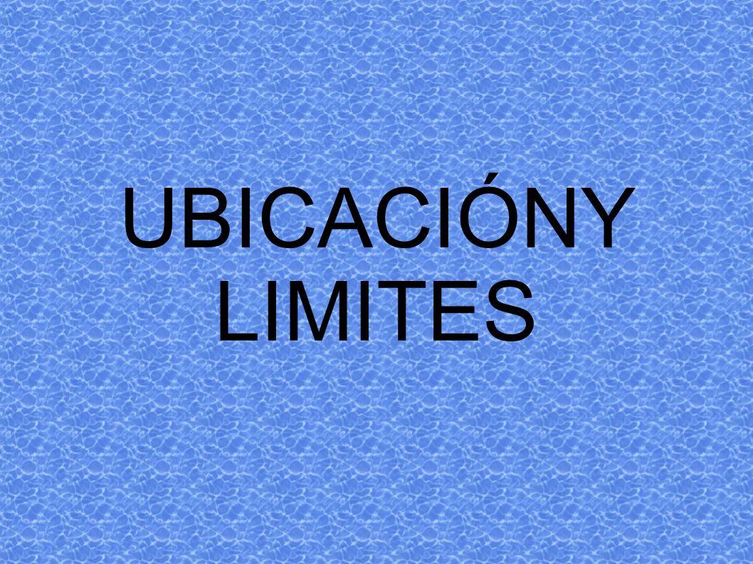 UBICACIÓNY LIMITES