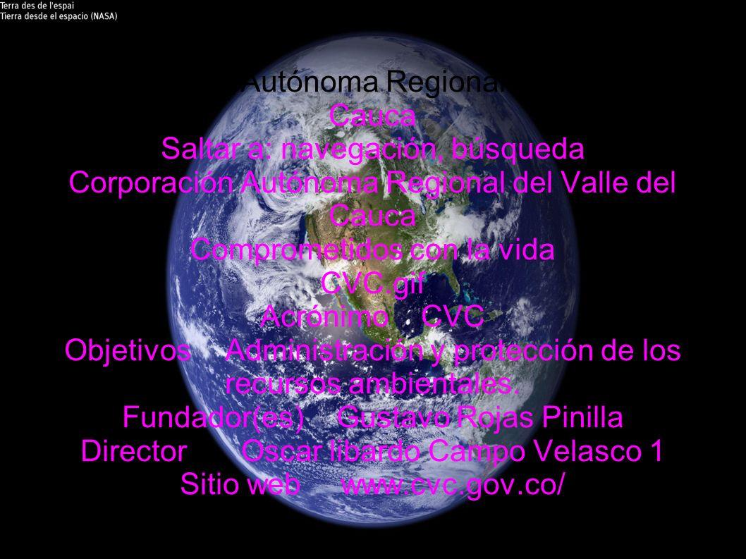 Corporación Autónoma Regional del Valle del Cauca