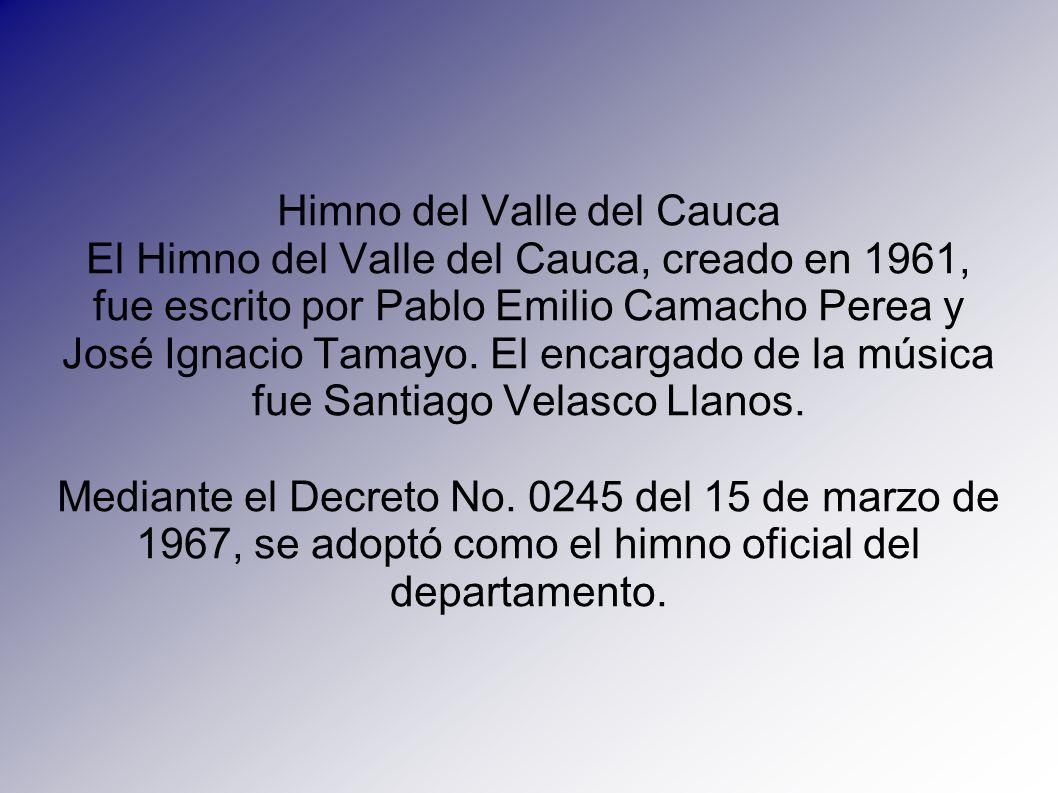 Himno del Valle del Cauca