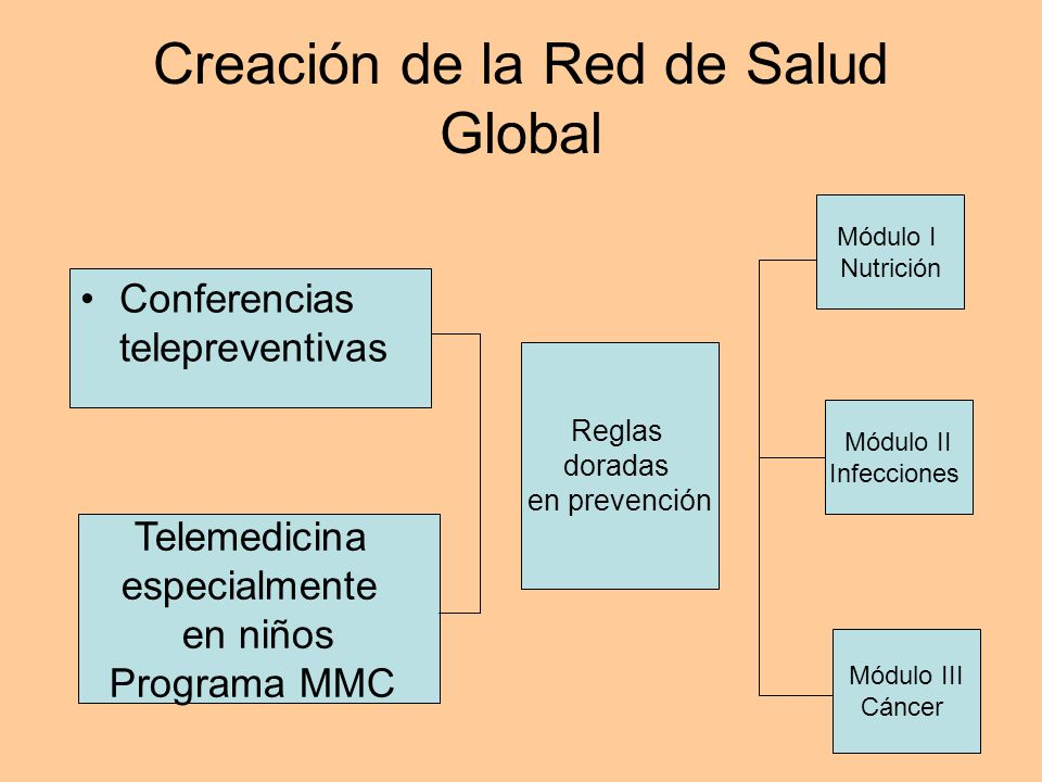 Creación de la Red de Salud Global