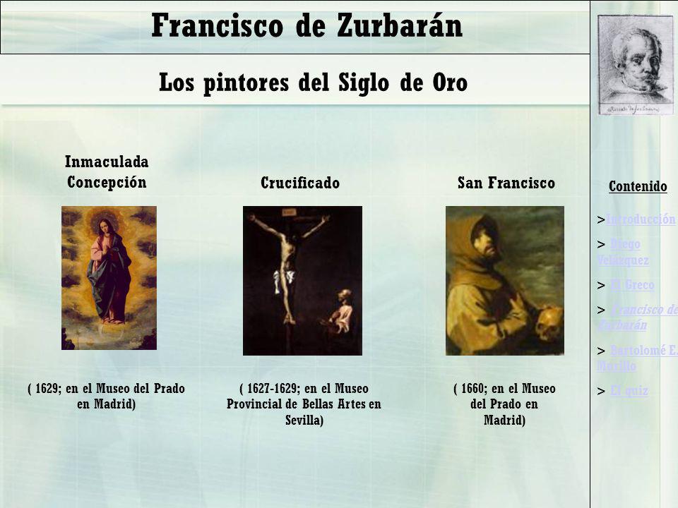 Francisco de Zurbarán Los pintores del Siglo de Oro