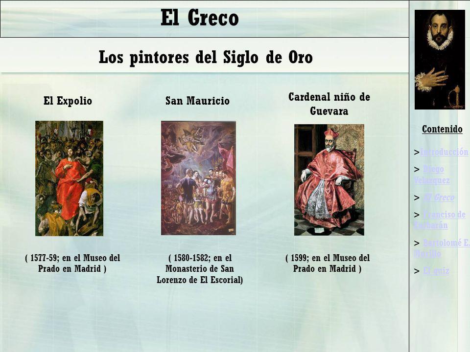 El Greco Los pintores del Siglo de Oro Cardenal niño de Guevara