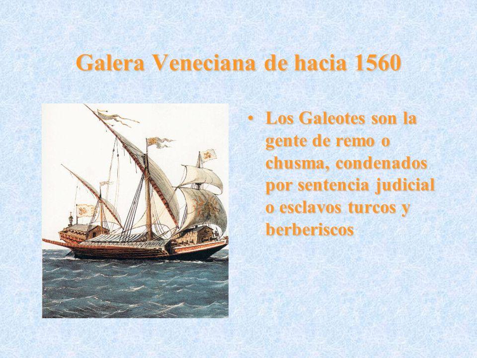 Galera Veneciana de hacia 1560