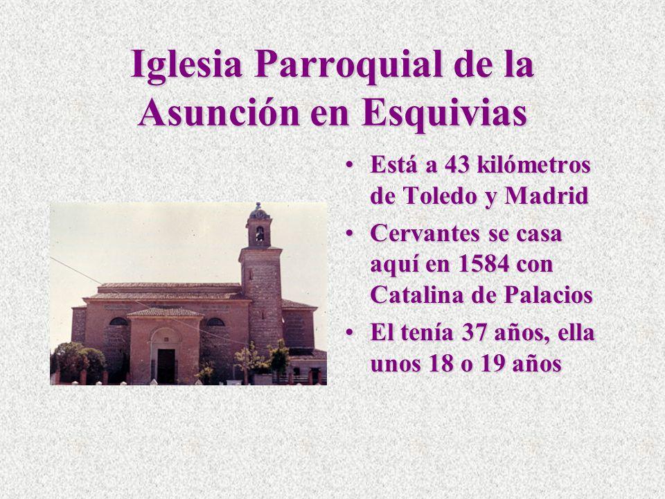 Iglesia Parroquial de la Asunción en Esquivias