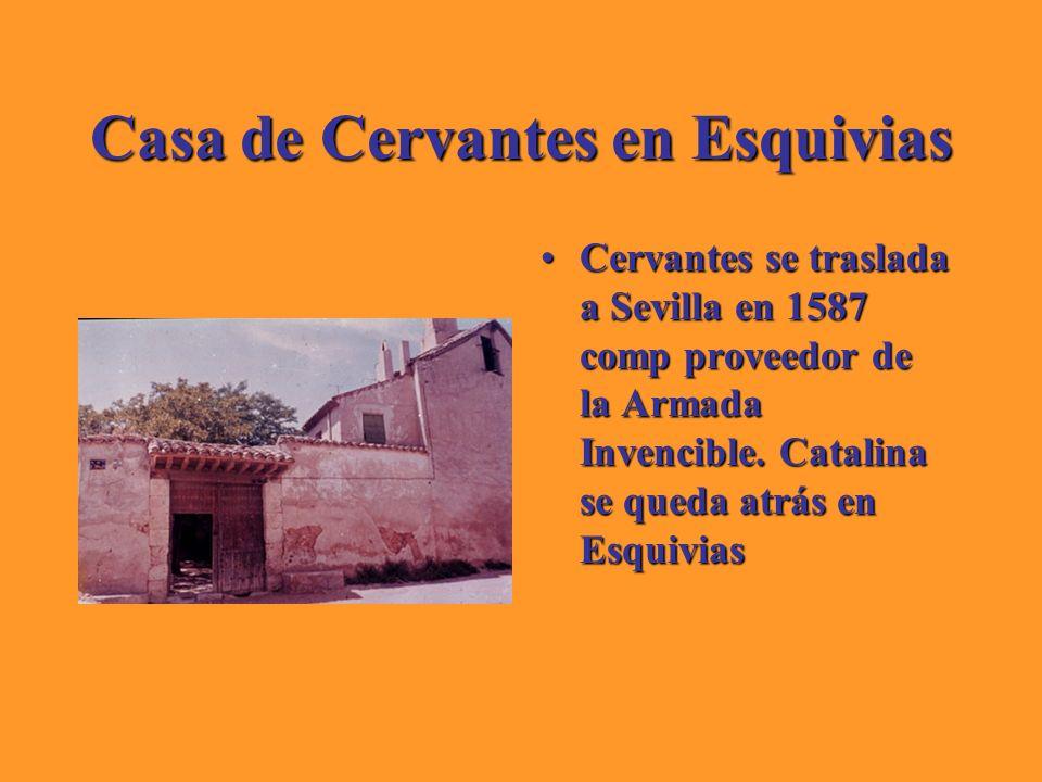 Casa de Cervantes en Esquivias