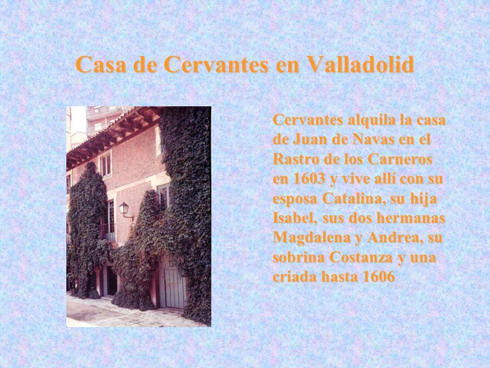 Casa de Cervantes en Valladolid