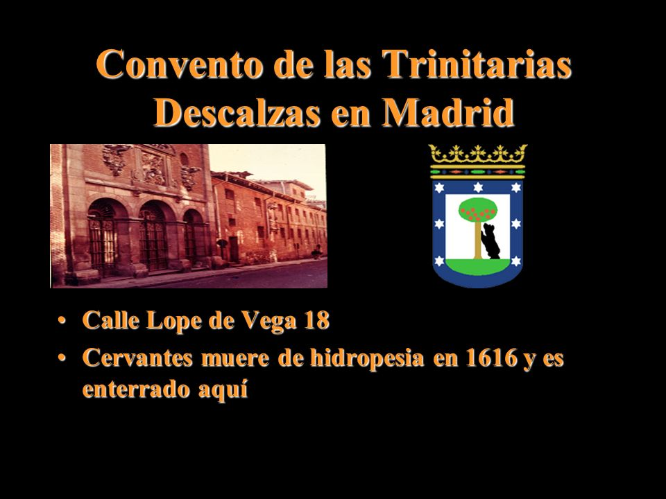 Convento de las Trinitarias Descalzas en Madrid