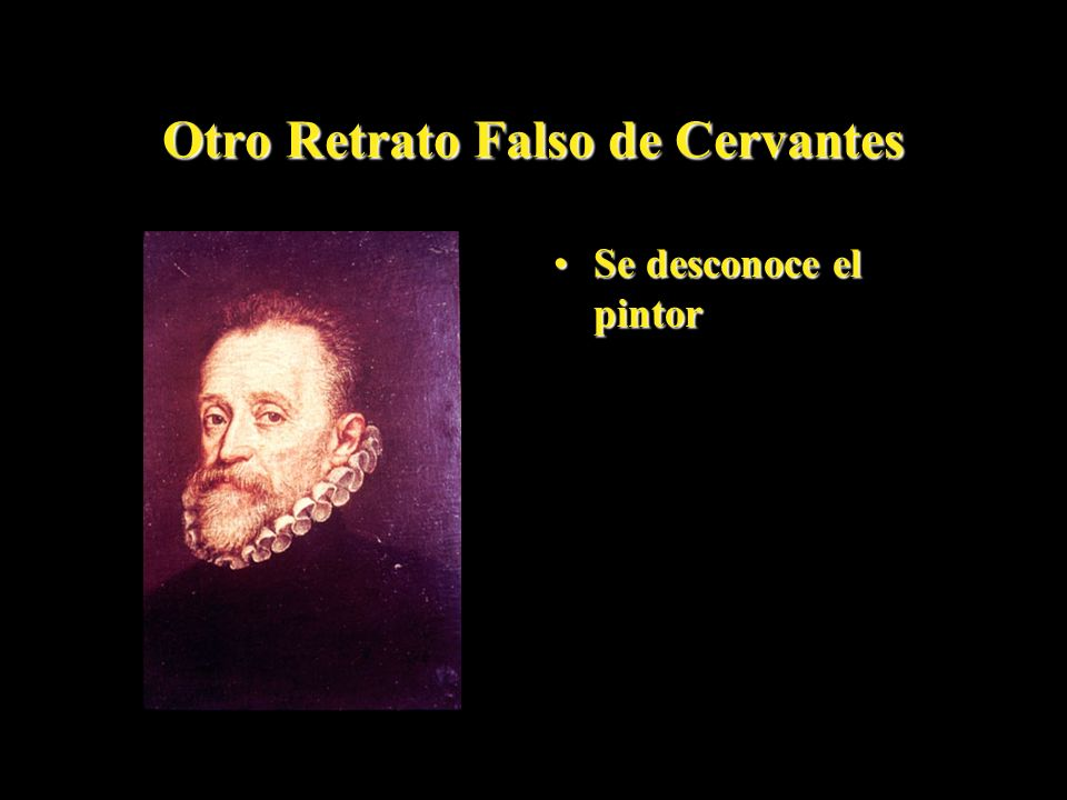 Otro Retrato Falso de Cervantes
