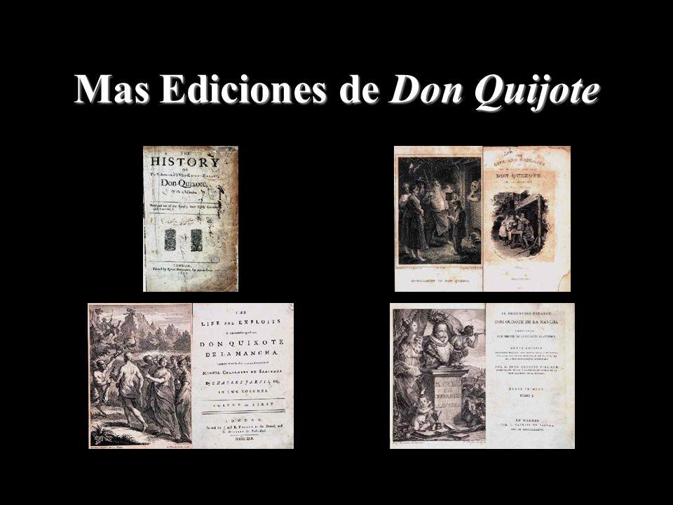 Mas Ediciones de Don Quijote