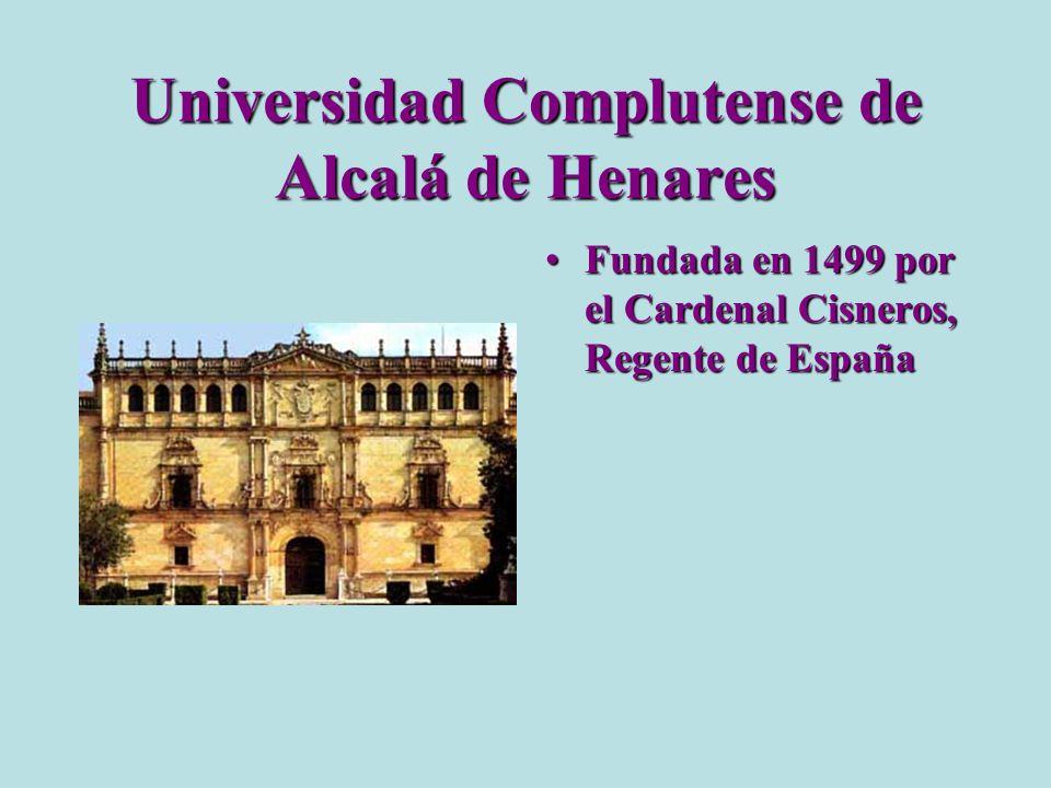 Universidad Complutense de Alcalá de Henares