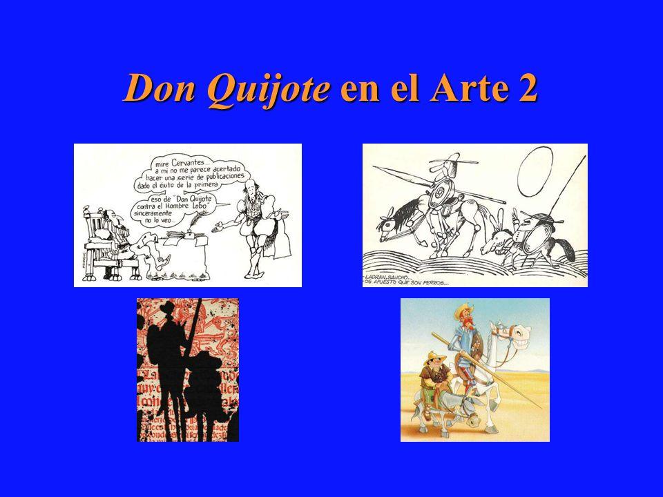 Don Quijote en el Arte 2