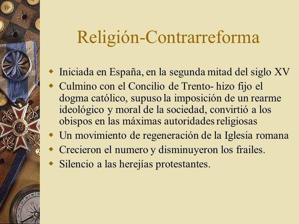 Religión-Contrarreforma