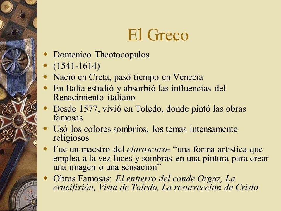 El Greco Domenico Theotocopulos (1541-1614)