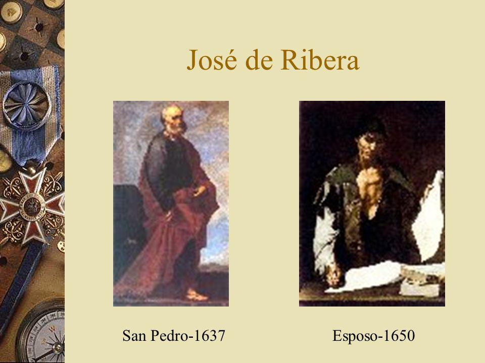 José de Ribera San Pedro-1637 Esposo-1650