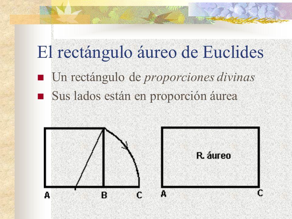 El rectángulo áureo de Euclides