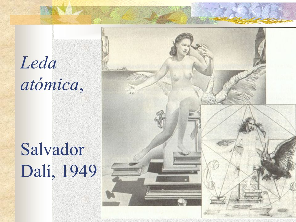 Leda atómica, Salvador Dalí, 1949