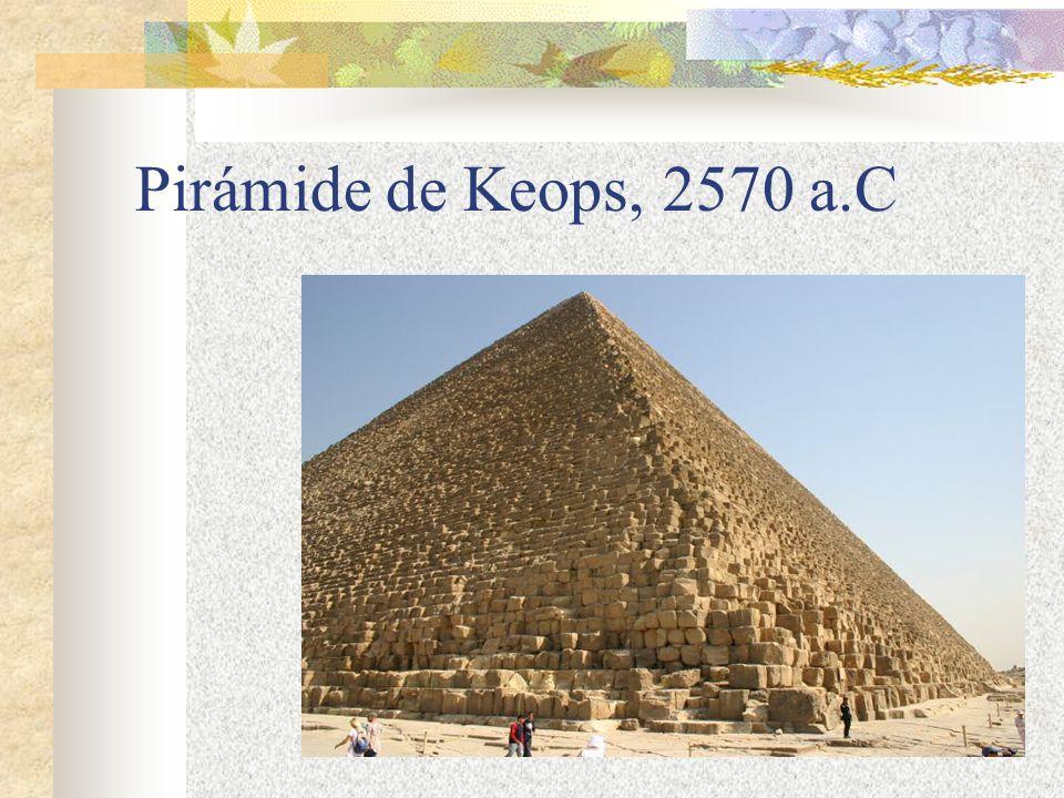 Pirámide de Keops, 2570 a.C
