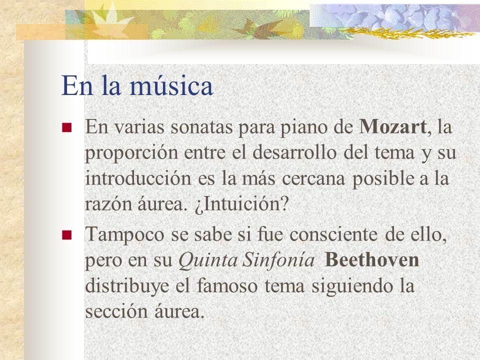 En la música
