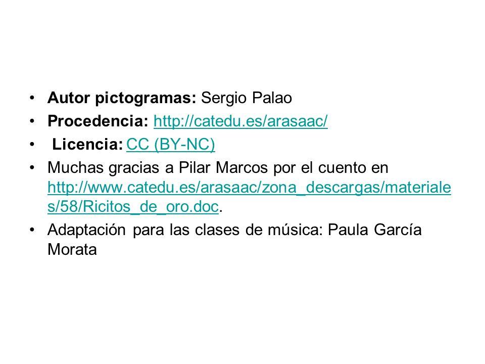 Autor pictogramas: Sergio Palao