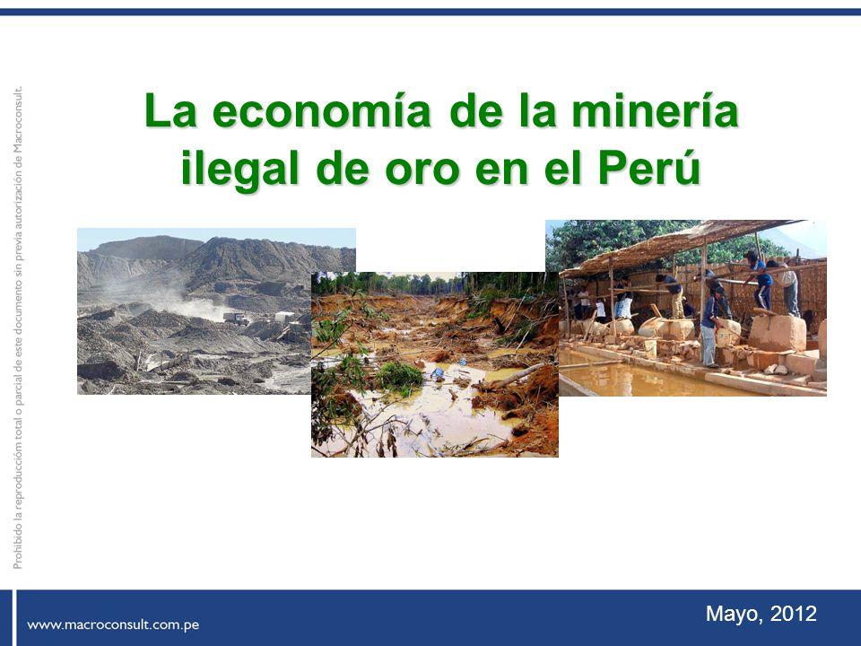 La economía de la minería ilegal de oro en el Perú