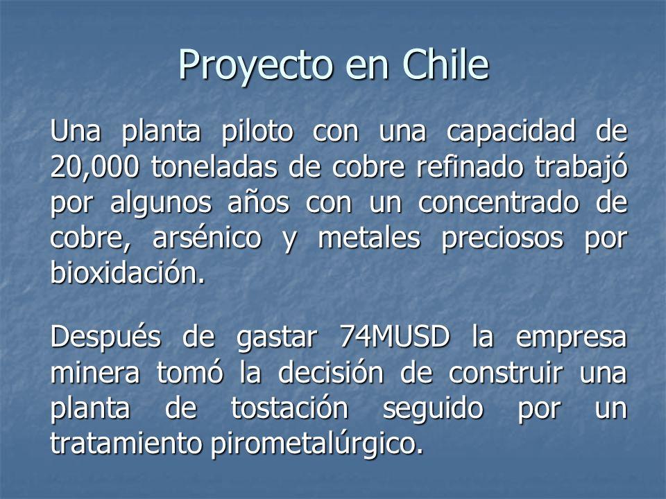 Proyecto en Chile
