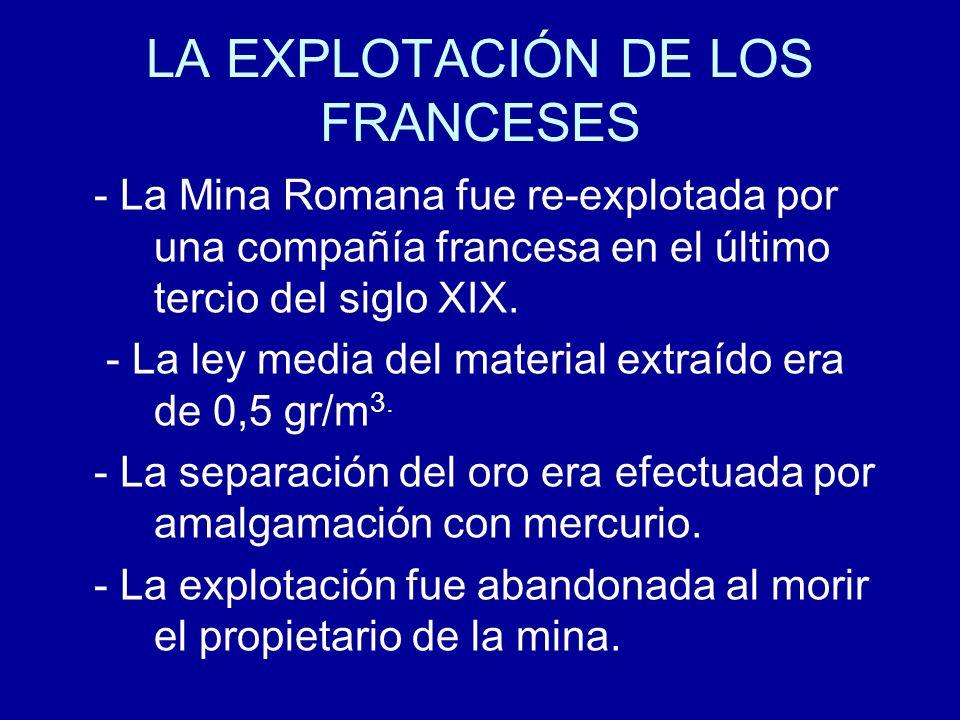 LA EXPLOTACIÓN DE LOS FRANCESES