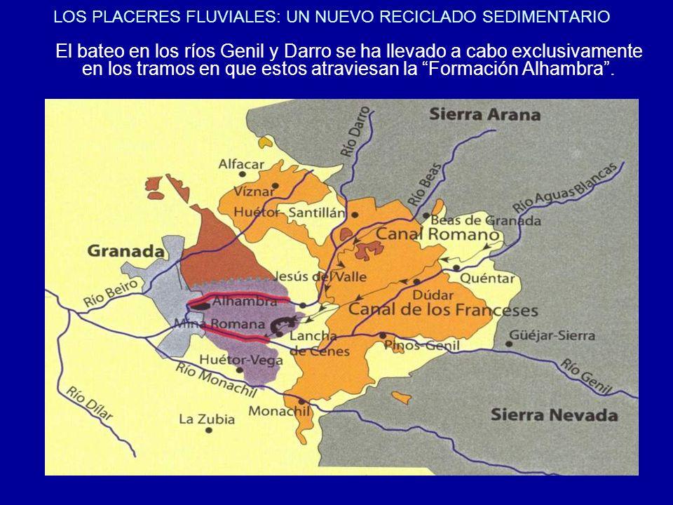 LOS PLACERES FLUVIALES: UN NUEVO RECICLADO SEDIMENTARIO
